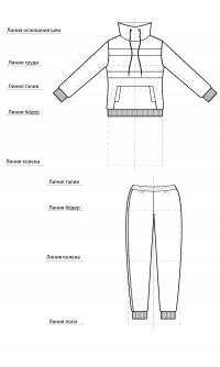 Комплект ДВ-0125-1 амарант
