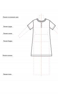 Сорочка СТ-0001