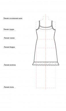 Сорочка СТ-0005к